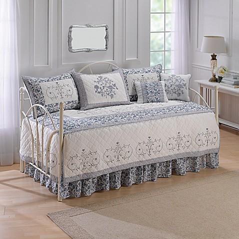 Nostalgia Home 174 Natalie Daybed Set In Ivory Blue Bed