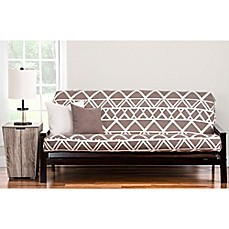 image of PoloGear Geo Tribe Futon Slipcover in Brown