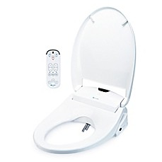image of Brondell Swash 1200 Luxury Bidet Toilet Seat in White