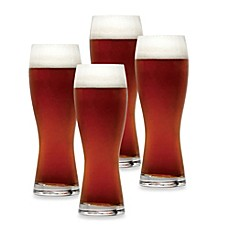 image of Mikasa® Brewmasters Wheat Beer Glasses (Set of 4)
