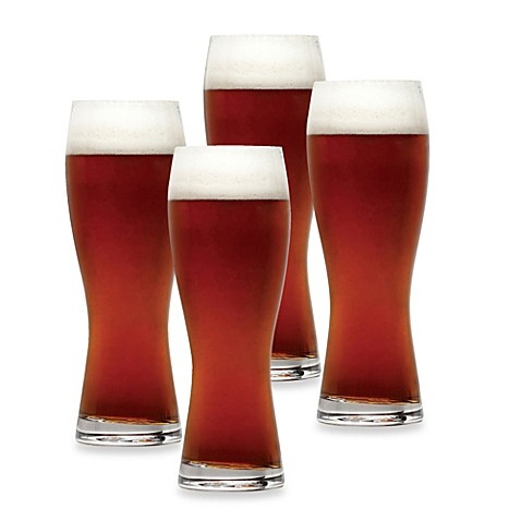 Mikasa® Brewmasters Wheat Beer Glasses (Set of 4)