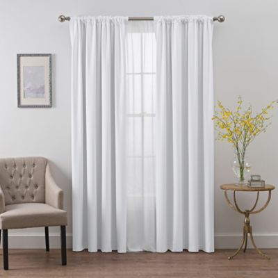 image of SmartBlock™ Chroma Rod Pocket Blackout Window Curtain Panel