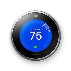 image of Nest® Learning Third Generation Thermostat