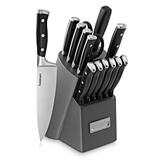 image of Cuisinart® Classic Triple Rivet 15-Piece Knife Block Set