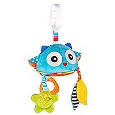 image of benbat™ Dazzle Friends Owl Stroller Toy with Mirror