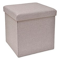 Beau Studio 3B™ Folding Storage Ottoman With Tray