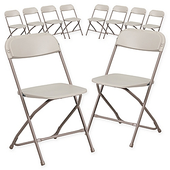 Image Of Flash Furniture Plastic Folding Chairs Set 10