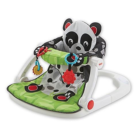 Fisher Price 174 Panda Paws Sit Me Up Floor Seat Buybuy Baby