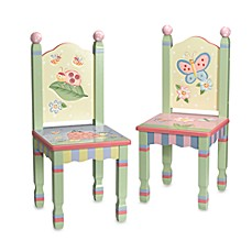 image of Teamson Magic Garden Chairs (Set of 2)