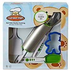 image of Curious Chef™ 6-Piece Cookie Making Kit