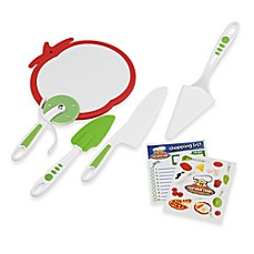 image of Curious Chef™ 5-Piece Pizza Making Kit
