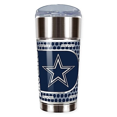Nfl Dallas Cowboys 24 Oz Vacuum Insulated Stainless Steel