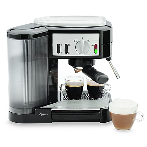 capresso cafe model espresso machine bed bath. Black Bedroom Furniture Sets. Home Design Ideas
