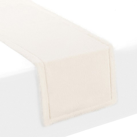 Buy Ugg 174 Polar 54 Inch Faux Fur Table Runner From Bed Bath