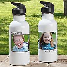 image of 2-Photo Picture Perfect 20 oz. Water Bottle