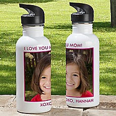 image of 1-Photo Picture Perfect 20 oz. Water Bottle
