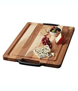 Tabla para picar con asas Artisanal Kitchen Supply® de 50.8 cmx38.1cm
