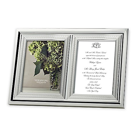 Vera Wang Wedgwood® With Love 5-Inch x 7-Inch Double Invitation ...