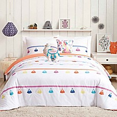 image of Urban Playground Painted Tassel Comforter Set