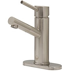 Image Of Vigo Noma Single Hole Faucet Set In PVD Brushed Nickel