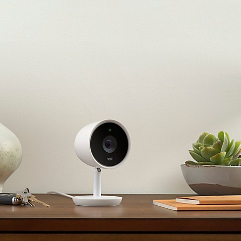 Nest® Cam IQ Indoor Security Camera in White