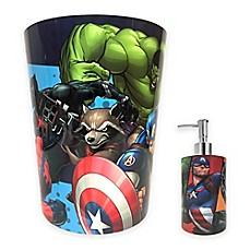 Image Of Marvel® Comics Bath Accessories Collection