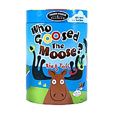 image of Front Porch Classics Who Goosed the Moose? Ring Toss Game