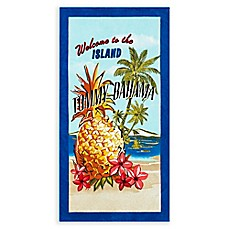 image of Tommy Bahama® Kokomo Island Beach Towel in Blue
