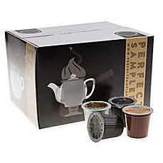 image of 40-Count Perfect Samplers Coffee/Tea/Hot Chocolate Variety Pack