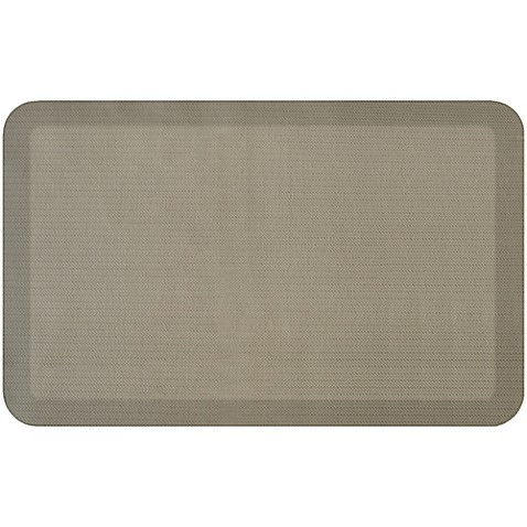 Newlife by gelpro designer comfort herringbone mat bed for Bathroom planner in feet and inches