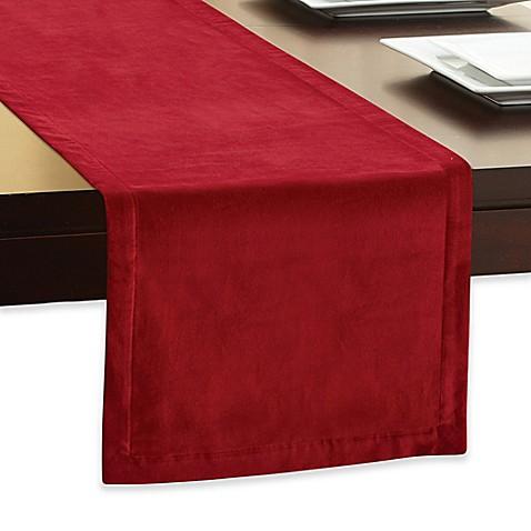 Velvet table runner bed bath beyond for 120 inch table runner