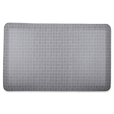 Therapedic 174 20 Inch X 32 Inch Kitchen Mat In Grey Bed
