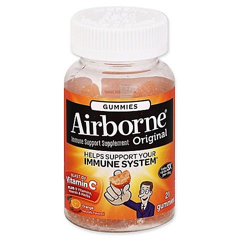 Airborne immune support