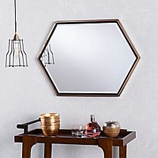 image of Holly & Martin® Whexis Wall Mirror in Champagne