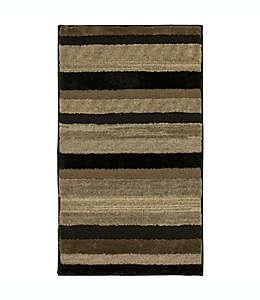 Tapete decorativo de poliéster Mohawk Home® Farmhouse Mirage, 73.66 cm x 1.11 m color negro nogal