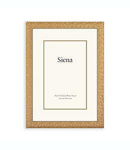 Cuadro de metal Siena® de 20 x 25 cm en oro