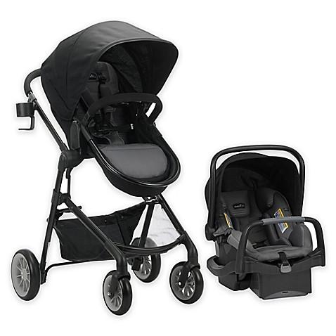 evenflo pivotplus modular travel system with safemax sensorsafe infant car seat bed bath. Black Bedroom Furniture Sets. Home Design Ideas