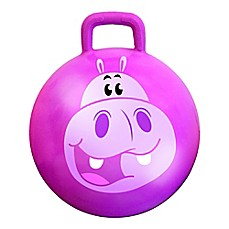 image of MegaFun USA Squishy the Hippo Jungle Hop Hop Bouncer