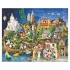 image of SunsOut 1500-Piece Fairy Tales Jigsaw Puzzle