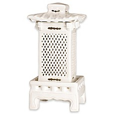 image of Emissary 24-Inch Square Lantern in White