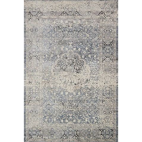 Magnolia Home By Joanna Gaines Everly Rug In Mist Bed