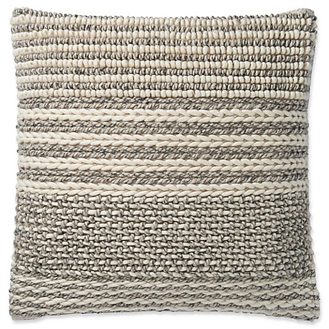 Magnolia Home By Joanna Gaines Barton 22 Inch Square Throw