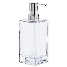 image of Oggi Tall Glass 13 oz. Soap Dispenser