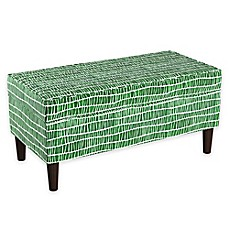 image of Cloth & Company Storage Bench in Objects Green