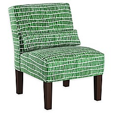 image of Cloth & Company Accent Chair in Objects Green