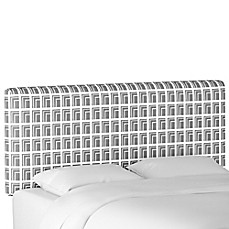 image of Cloth & Company Upholstered Headboard in Architecture Grey