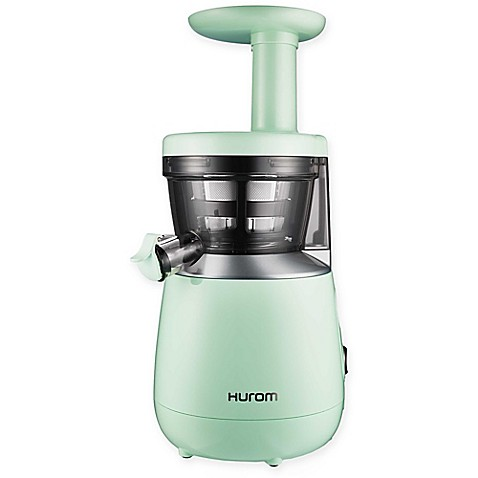 Slow Juicer Greenis : Hurom HP Slow Juicer in Mint Green - Bed Bath & Beyond