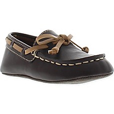 image of Kenneth Cole Flexy Moccasin Boat Shoe in Brown
