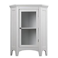 Elegant Home Fashions Helen Corner Floor Cabinet