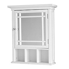 Image Of Elegant Home Fashions Hadley Medicine Cabinet In White